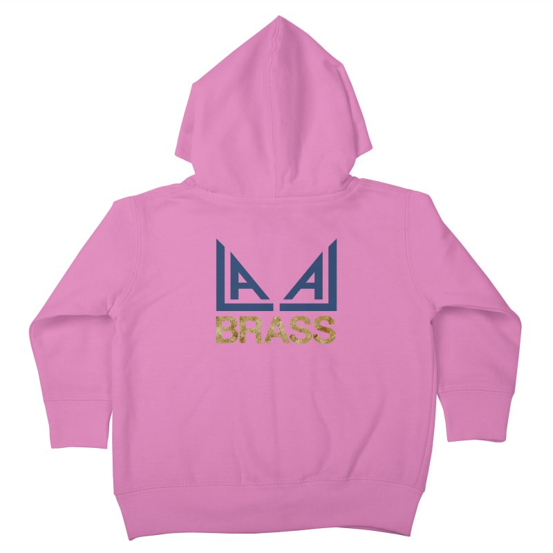 LALA Brass Kids Toddler Zip-Up Hoody by LALA Brass Merch Shop