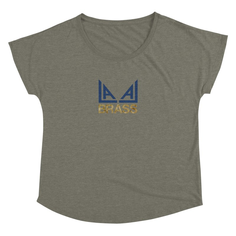 LALA Brass Women's Scoop Neck by LALA Brass Merch Shop