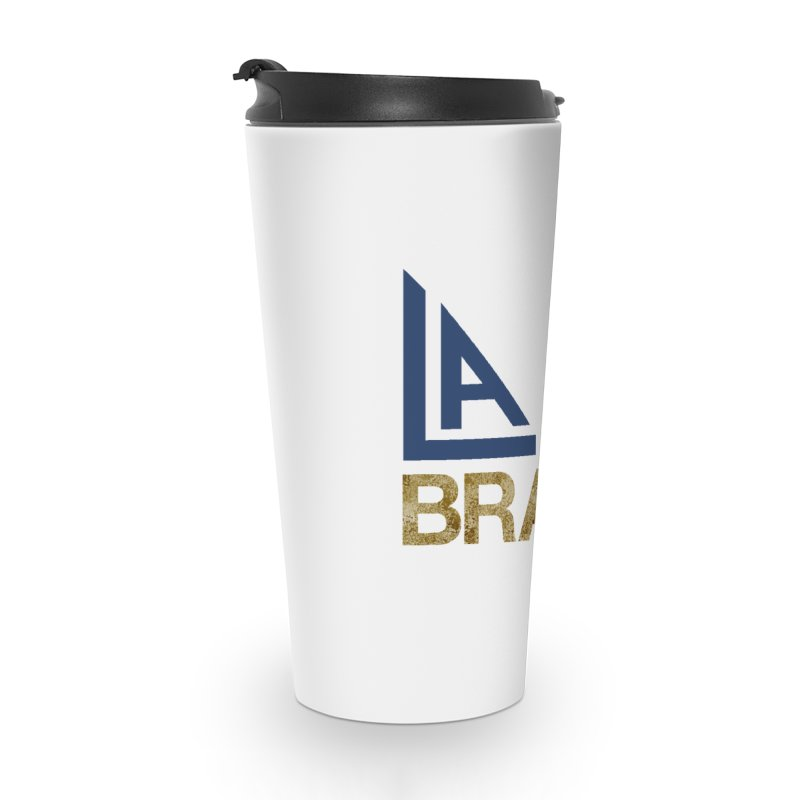 LALA Brass in Travel Mug by LALA Brass Merch Shop