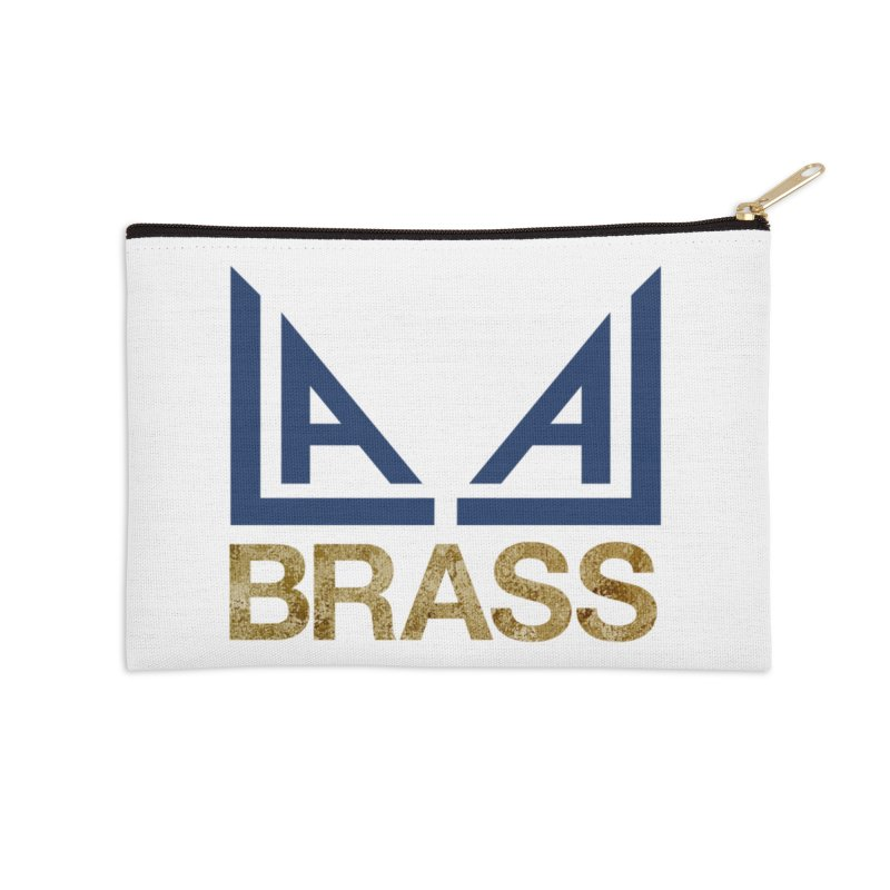 LALA Brass Accessories Zip Pouch by LALA Brass Merch Shop