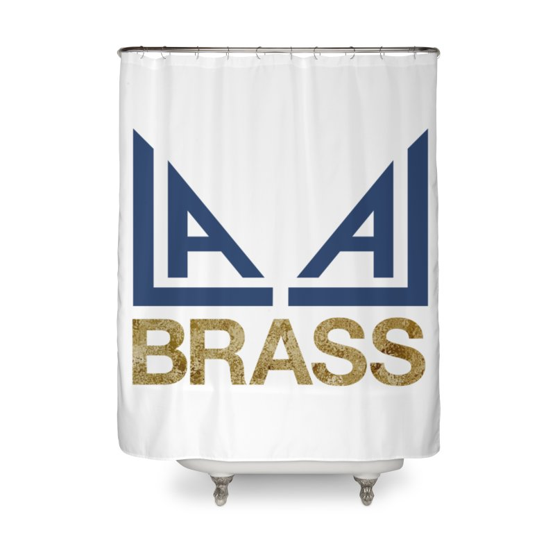LALA Brass Home Shower Curtain by LALA Brass Merch Shop