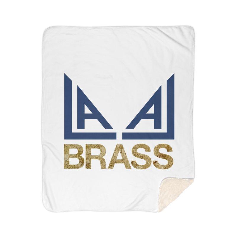 LALA Brass Home Sherpa Blanket Blanket by LALA Brass Merch Shop