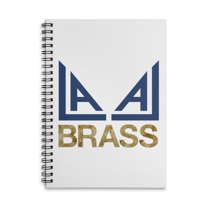 LALA Brass Accessories Lined Spiral Notebook by LALA Brass Merch Shop