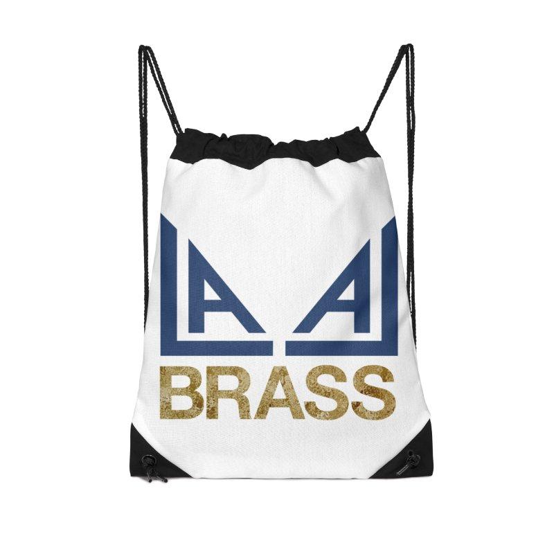 LALA Brass Accessories Drawstring Bag Bag by LALA Brass Merch Shop