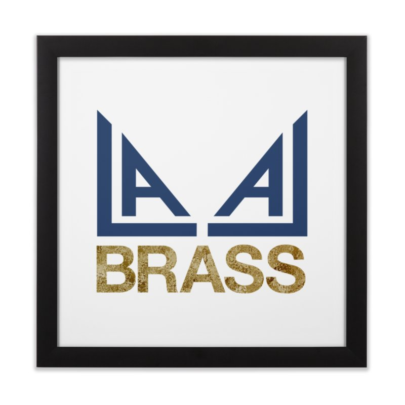 LALA Brass Home Framed Fine Art Print by LALA Brass Merch Shop