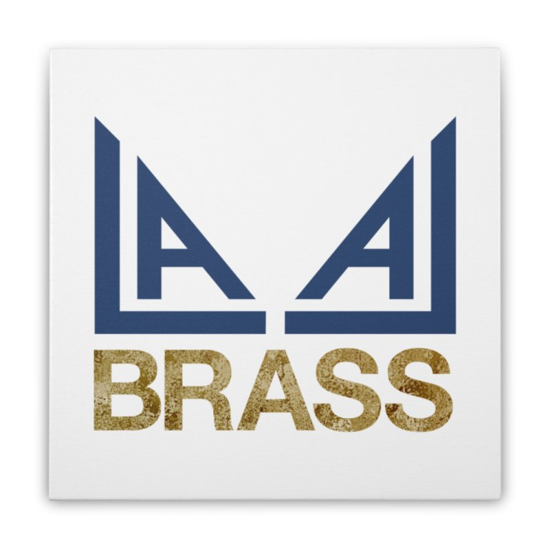 LALA Brass Home Stretched Canvas by LALA Brass Merch Shop
