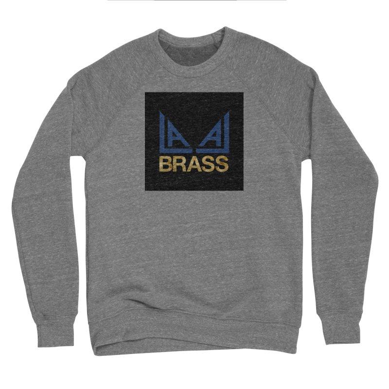 LALA Brass black Men's Sponge Fleece Sweatshirt by LALA Brass Merch Shop