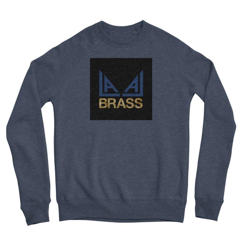 LALA Brass black Women's Sponge Fleece Sweatshirt by LALA Brass Merch Shop