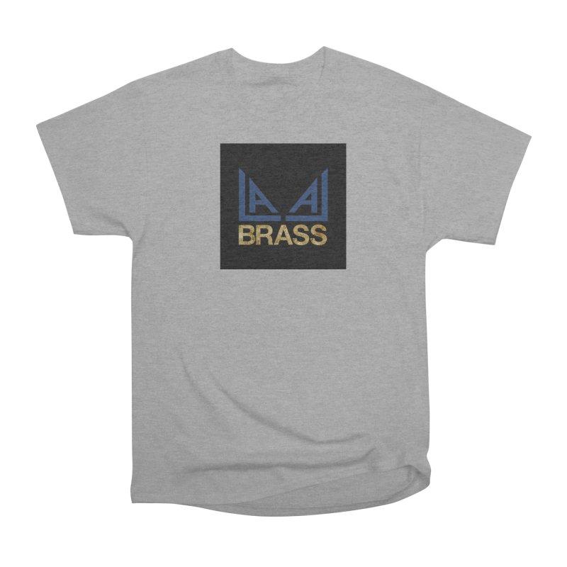 LALA Brass black Men's Heavyweight T-Shirt by LALA Brass Merch Shop