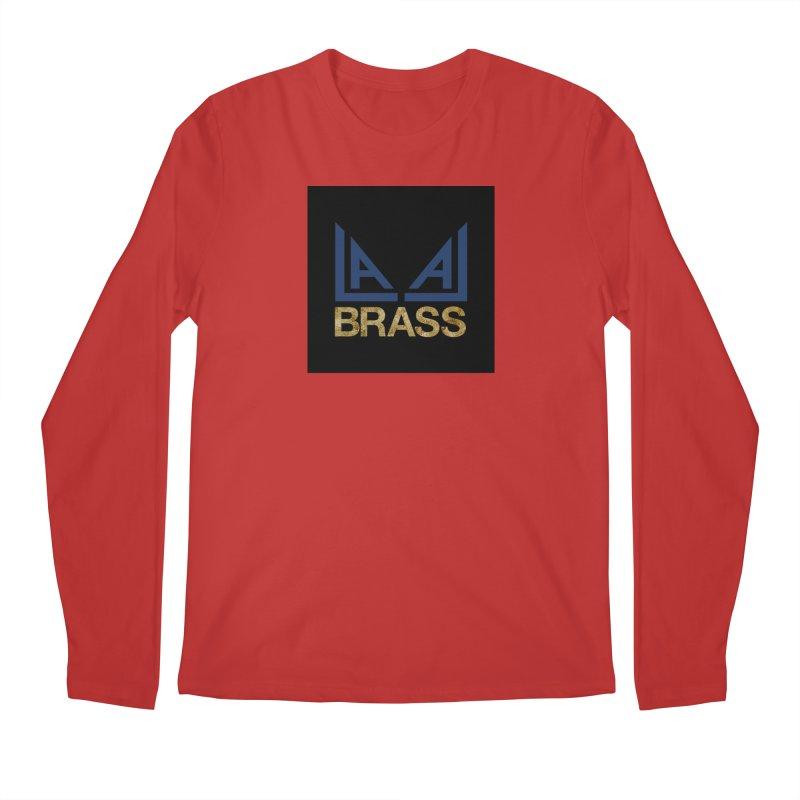LALA Brass black Men's Regular Longsleeve T-Shirt by LALA Brass Merch Shop