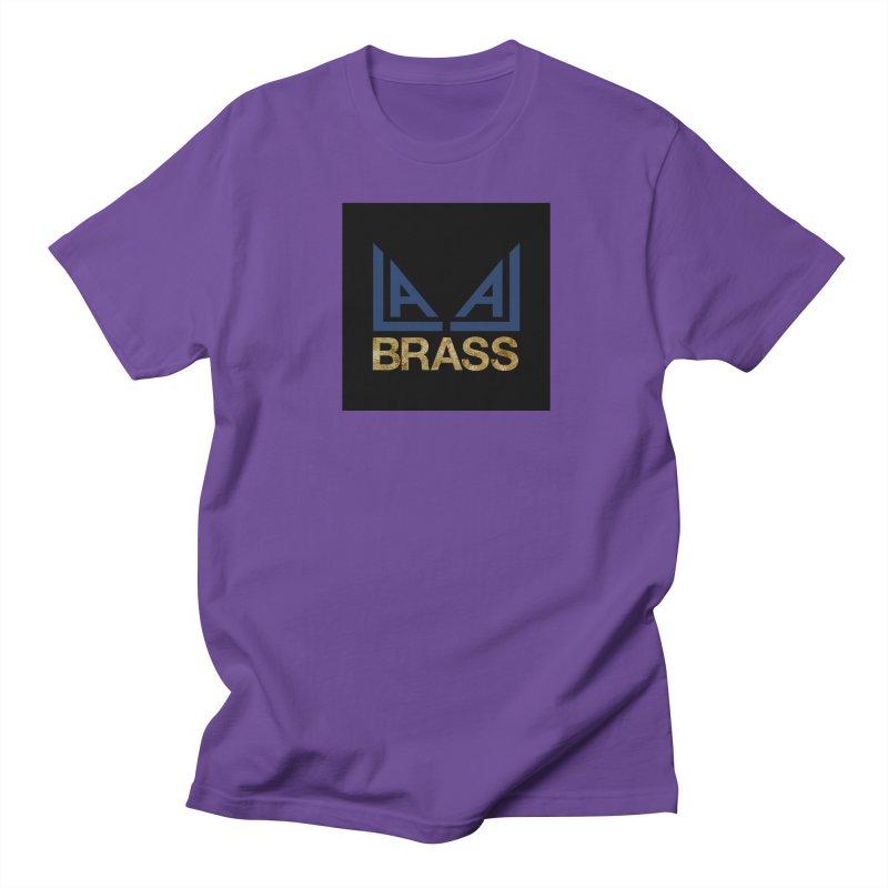 LALA Brass black Men's Regular T-Shirt by LALA Brass Merch Shop