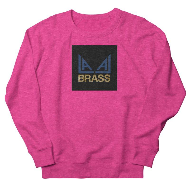 LALA Brass black Women's French Terry Sweatshirt by LALA Brass Merch Shop
