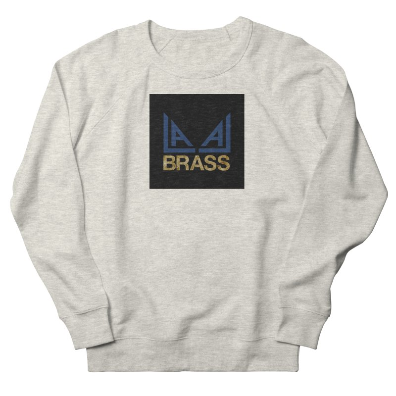 LALA Brass black Women's French Terry Sweatshirt by LALA Brass Merch Shop