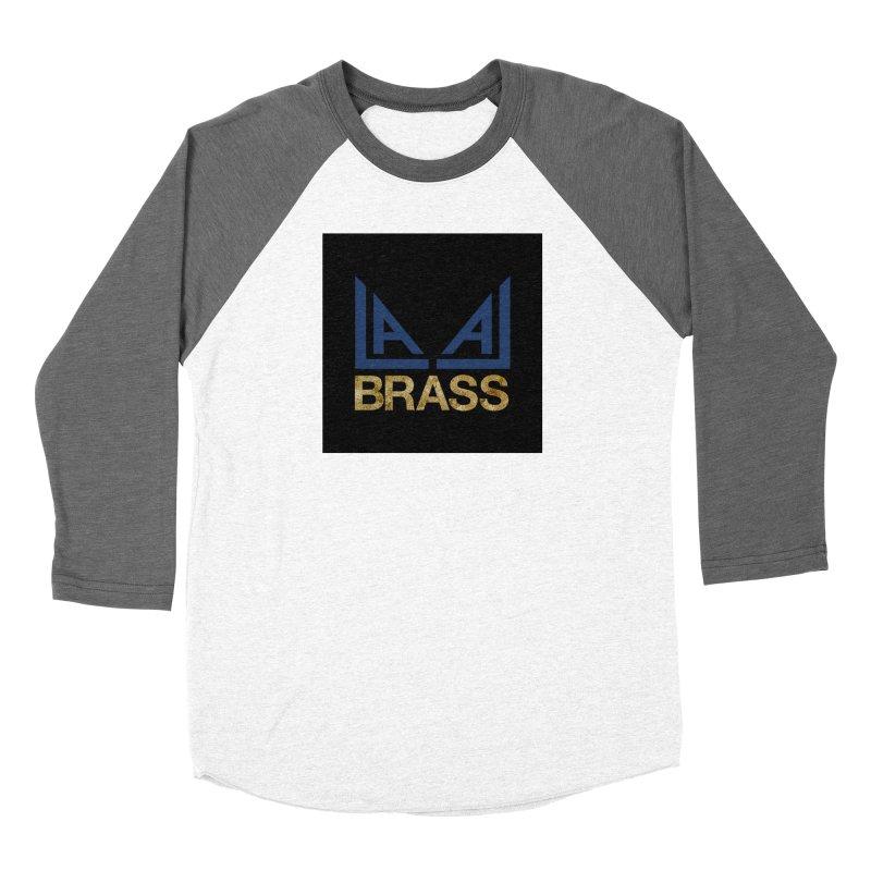LALA Brass black Women's Baseball Triblend Longsleeve T-Shirt by LALA Brass Merch Shop