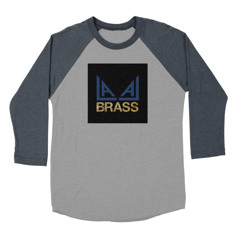 LALA Brass black Women's Baseball Triblend Longsleeve T-Shirt by LALA Brass Merch Shop
