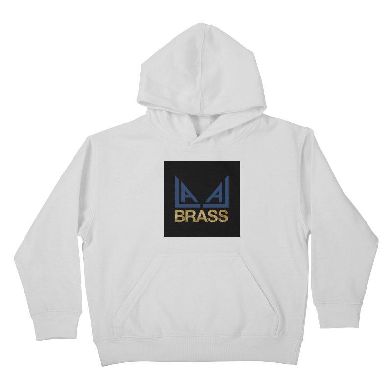 LALA Brass black Kids Pullover Hoody by LALA Brass Merch Shop