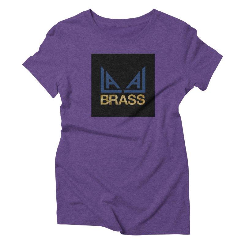 LALA Brass black Women's Triblend T-Shirt by LALA Brass Merch Shop
