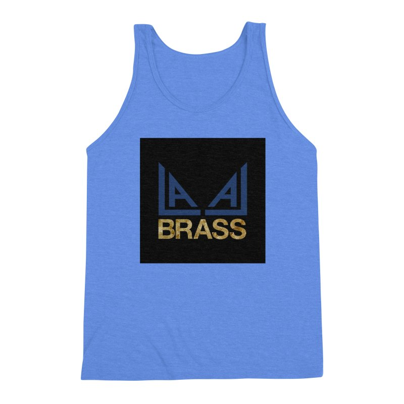 LALA Brass black Men's Triblend Tank by LALA Brass Merch Shop