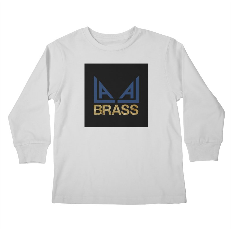 LALA Brass black Kids Longsleeve T-Shirt by LALA Brass Merch Shop