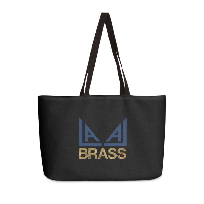 LALA Brass black Accessories Weekender Bag Bag by LALA Brass Merch Shop