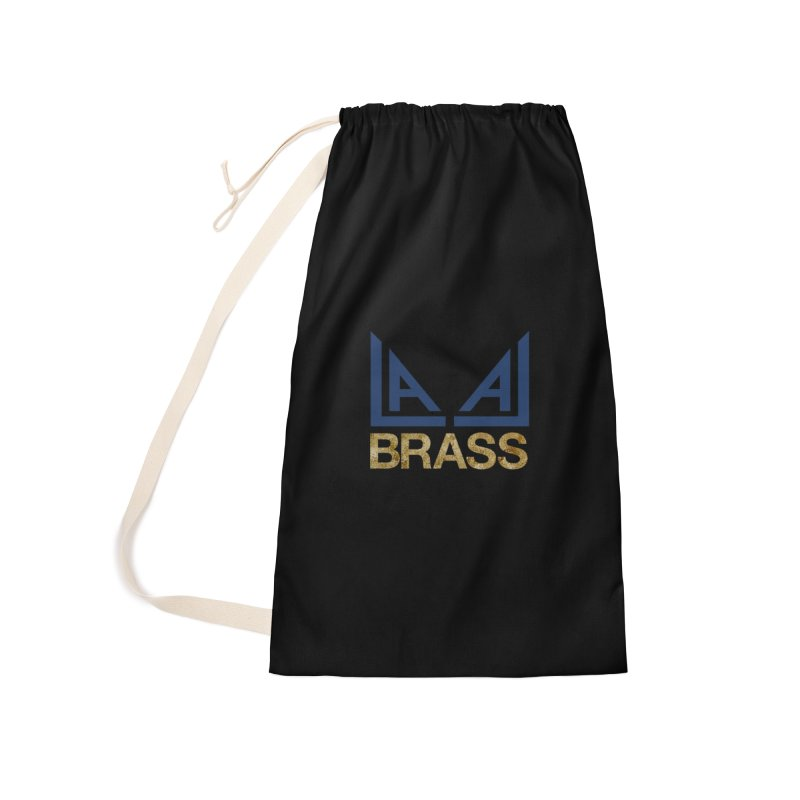 LALA Brass black Accessories Laundry Bag Bag by LALA Brass Merch Shop