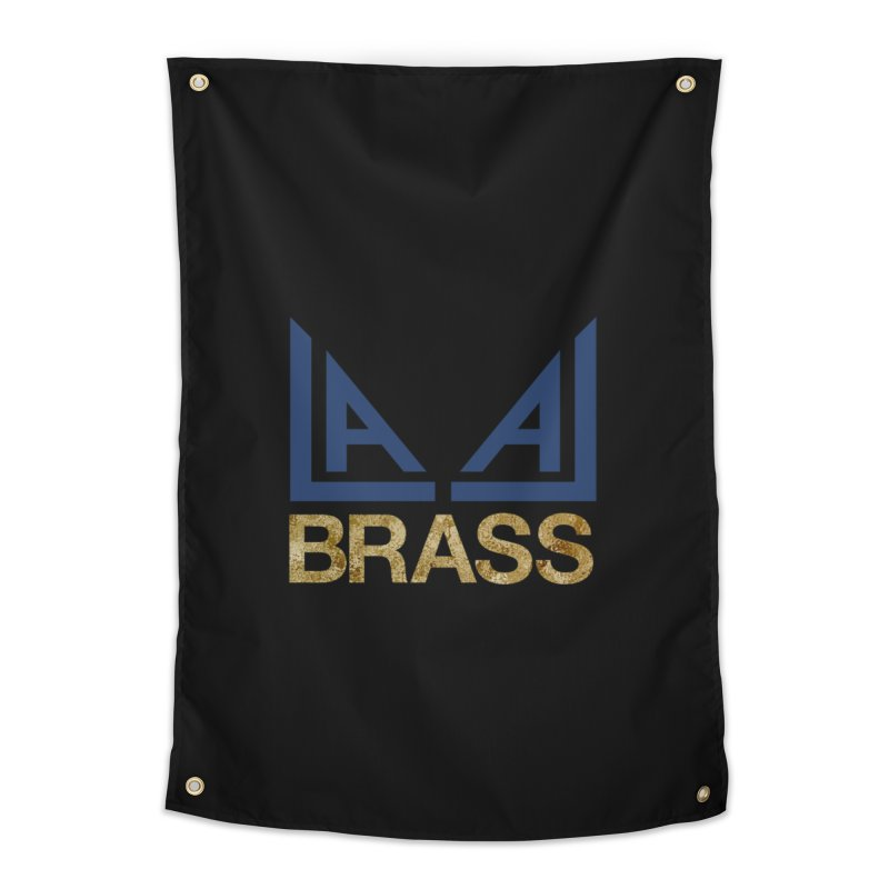 LALA Brass black Home Tapestry by LALA Brass Merch Shop