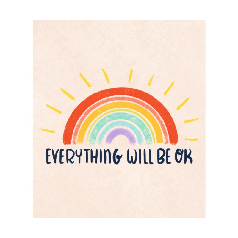 Everything Will Be Ok Accessories Magnet by La Lilu