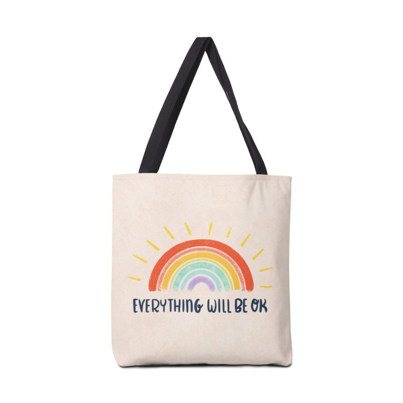 Everything Will Be Ok Accessories Bag by La Lilu
