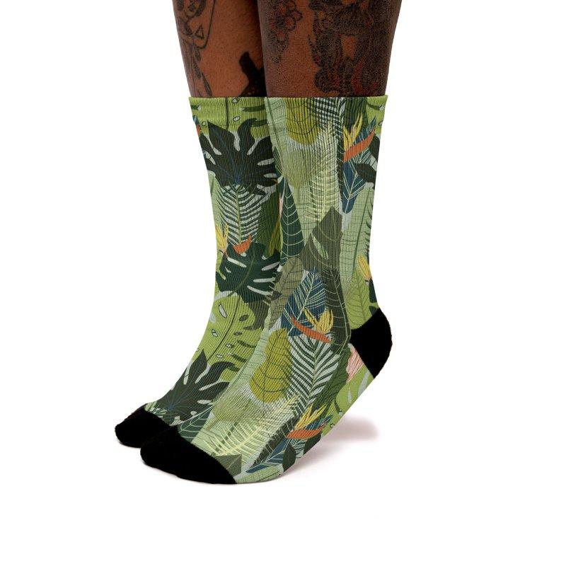 Green On! Women's Socks by La Lilu