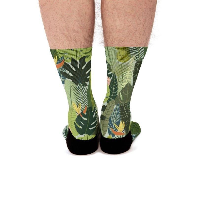 Green On! Men's Socks by La Lilu