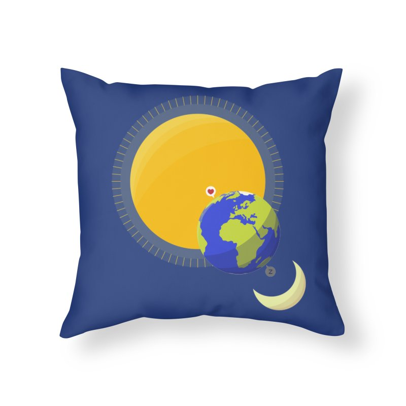 Far Away Lover Home Throw Pillow by Lamalab