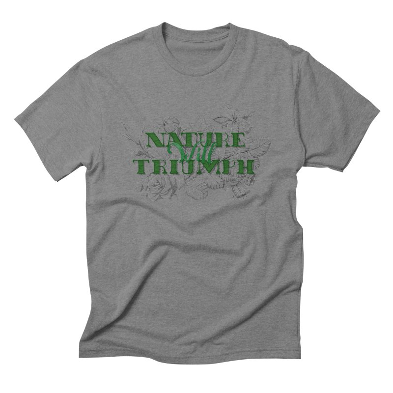 Nature will triumph Men's T-Shirt by Lamalab