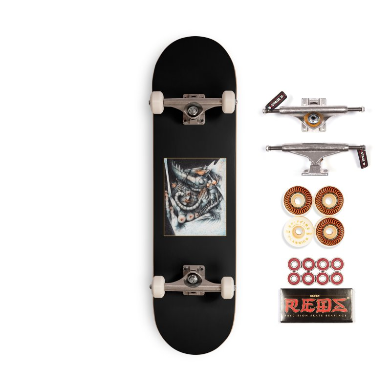 Artist's Block #1 Accessories Skateboard by The Art of Tyler Lamph
