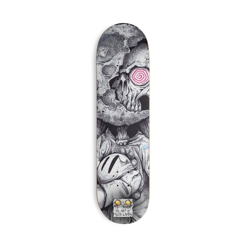 The Spaceman Accessories Deck Only Skateboard by lamph's Shop