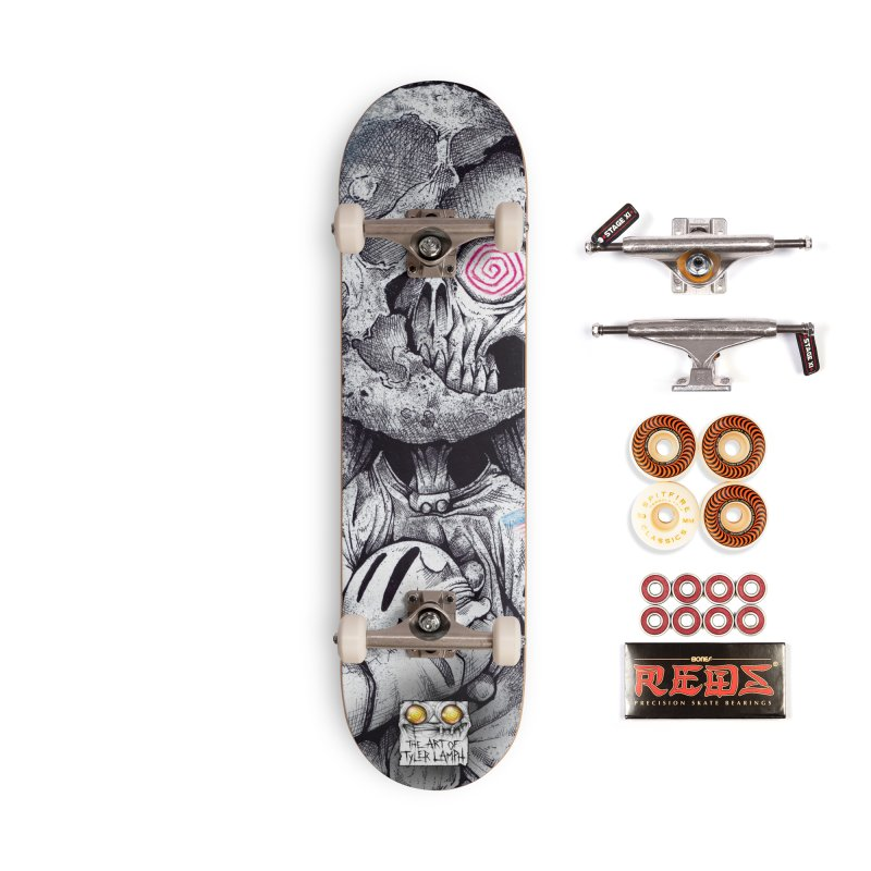 The Spaceman Accessories Skateboard by The Art of Tyler Lamph