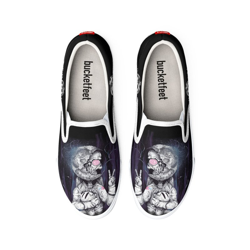 The Spaceman Men's Shoes by The Art of Tyler Lamph