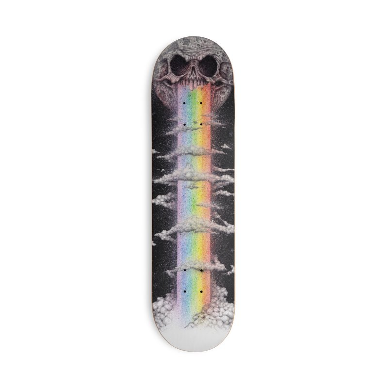 Nocturnal Rainbows Accessories Skateboard by The Art of Tyler Lamph