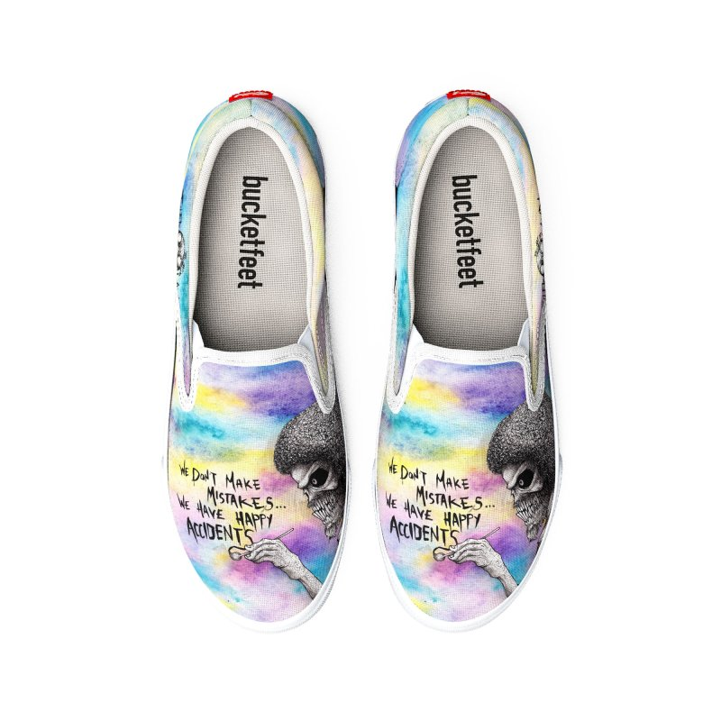 Happy Accidents Men's Shoes by The Art of Tyler Lamph