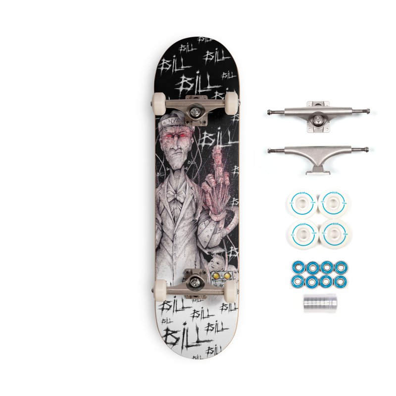 Bill Nye The Cyborg Guy Accessories Skateboard by The Art of Tyler Lamph