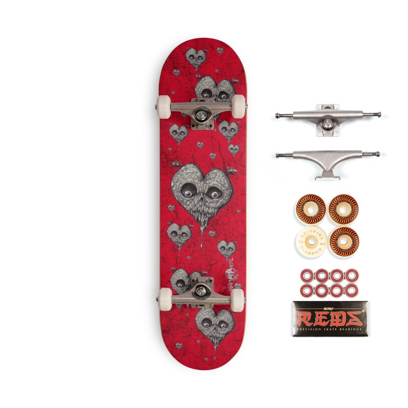 I Think He Likes You Accessories Skateboard by The Art of Tyler Lamph