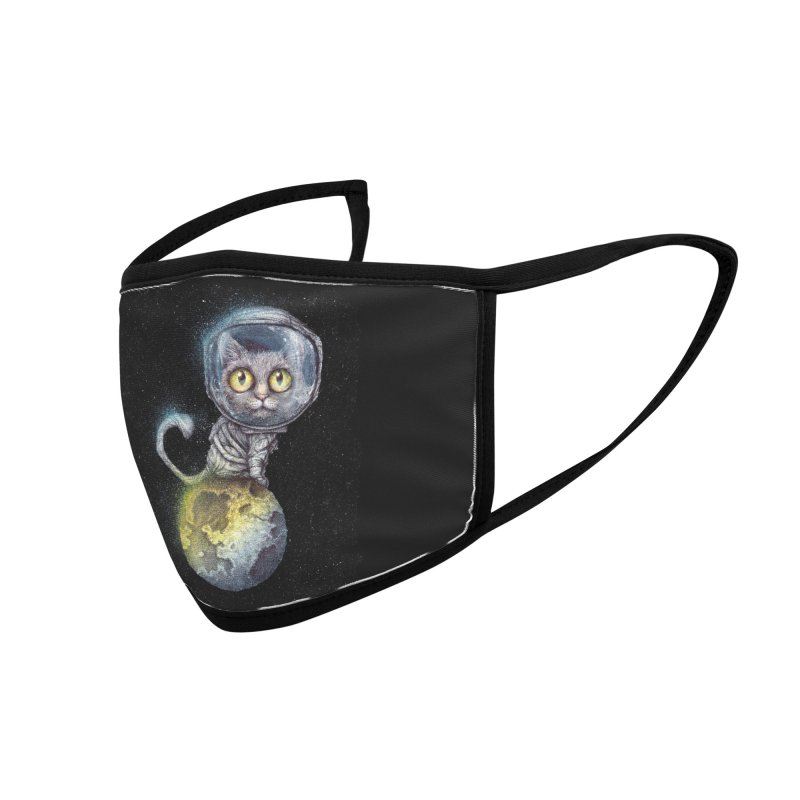 Out Of This World Pussy Accessories Face Mask by The Art of Tyler Lamph