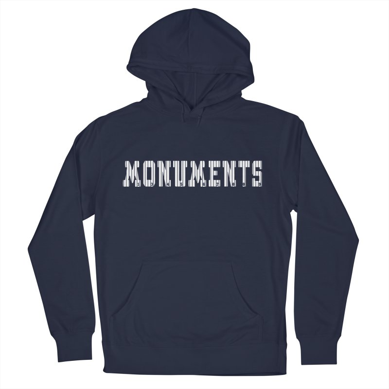 Monuments Women's French Terry Pullover Hoody by Lance Lionetti's Artist Shop
