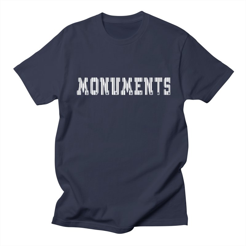 Monuments Men's T-shirt by Lance Lionetti's Artist Shop