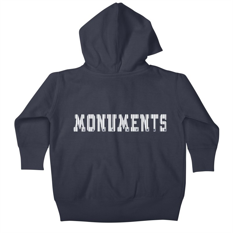 Monuments Kids Baby Zip-Up Hoody by Lance Lionetti's Artist Shop