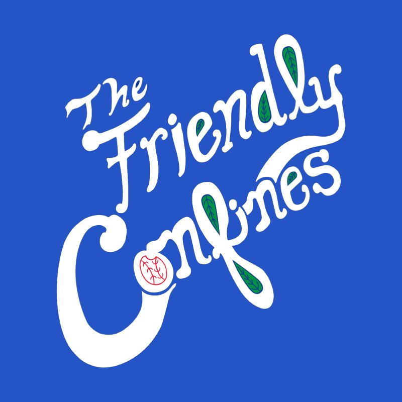 The Friendly Confines Women's Longsleeve T-Shirt by Lance Lionetti's Artist Shop