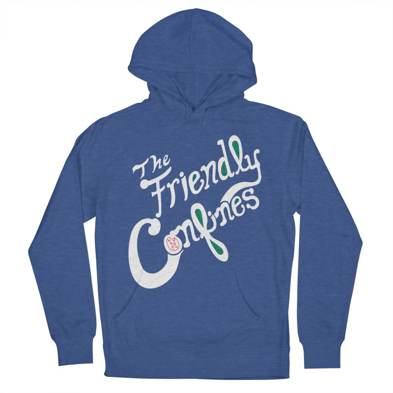 The Friendly Confines Men's Pullover Hoody by Lance Lionetti's Artist Shop