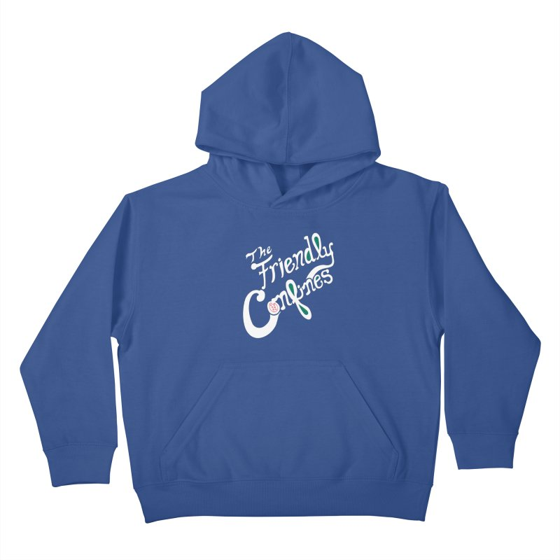 The Friendly Confines Kids Pullover Hoody by Lance Lionetti's Artist Shop