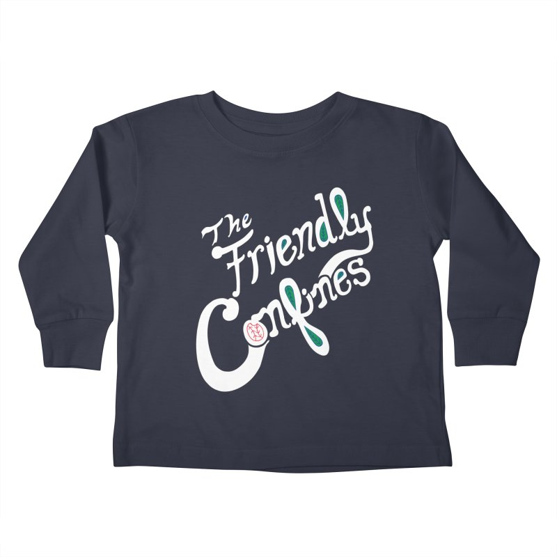 The Friendly Confines Kids Toddler Longsleeve T-Shirt by Lance Lionetti's Artist Shop