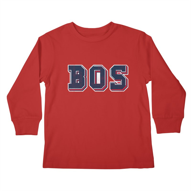 BOS- Red   by Lance Lionetti's Artist Shop