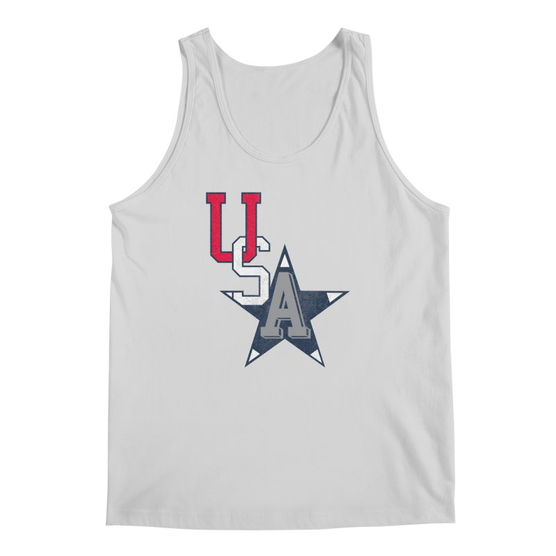 USA Star Men's Tank by Lance Lionetti's Artist Shop